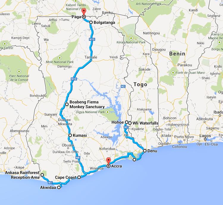 Relacja z podróży do Ghany