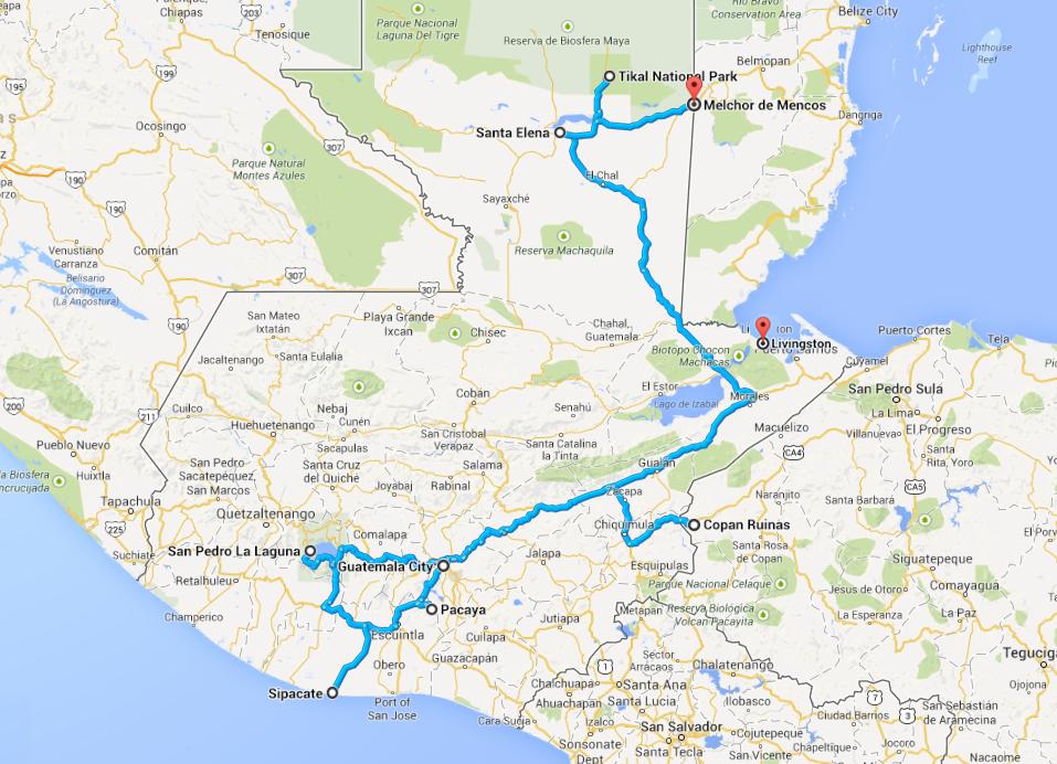 Relacja z podróży do gwatemali