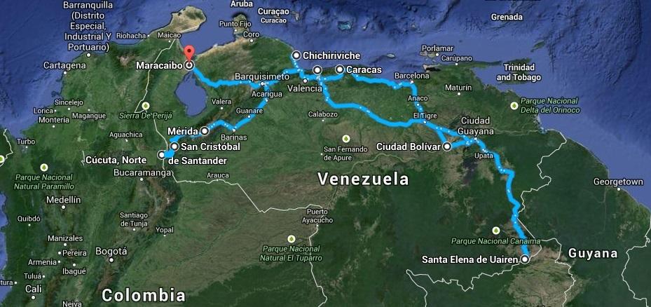 Relacja z podróży do Wenezueli