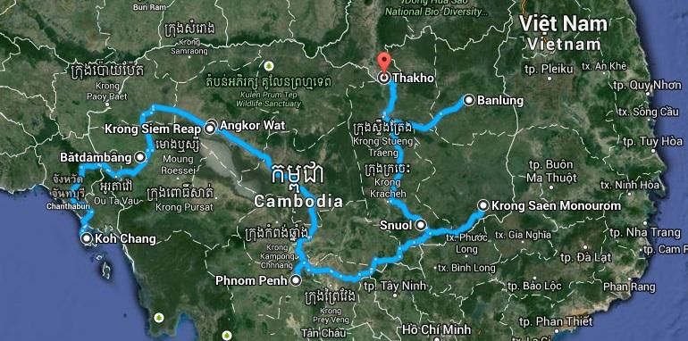 Relacja z podróży do Kambodży