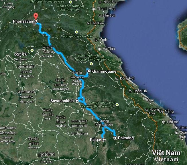 Relacja z podróży do Laosu